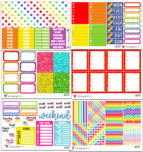 Rainbow Collection // Planner Kits