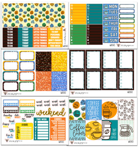 WK045 // Coffee Lover Collection // Planner Stickers