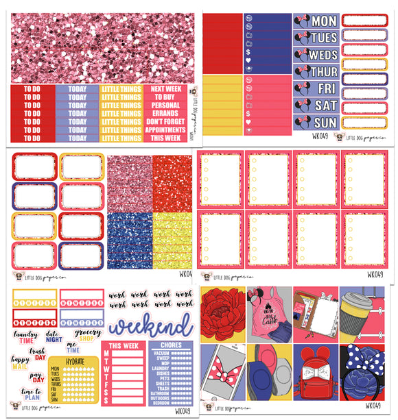 WK049 // Castle Dreams Collection // Planner Stickers