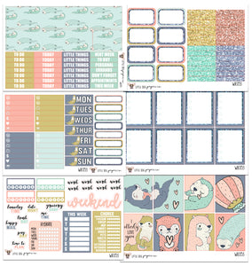 WK053 // Otter Love Collection // Planner Stickers