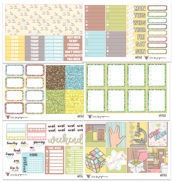 WK068 // Bazinga Collection // Planner Stickers