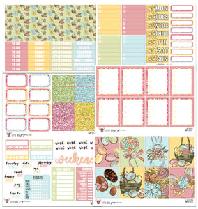 WK072 // Easter Collection // Planner Stickers