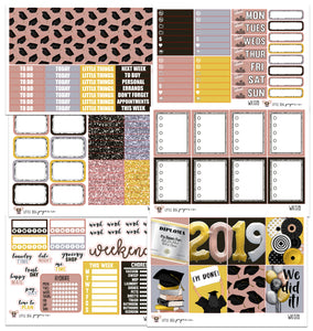 WK078 // Congrats, Grad Collection // Planner Stickers