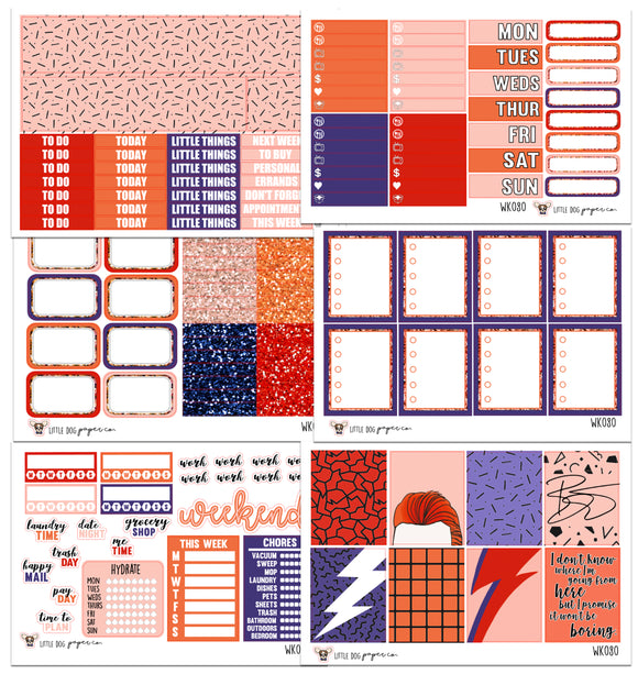 WK080 // Starman Collection // Planner Stickers