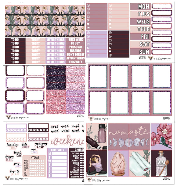 WK094 // Manifest Collection // Planner Stickers