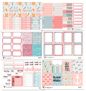 WK097 // Salt Water Collection // Planner Stickers