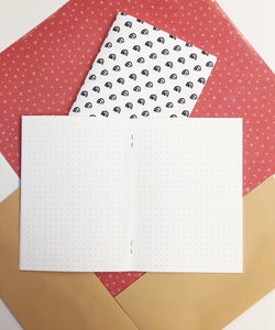 B6 Traveler's Notebook Inserts // Dot Grid
