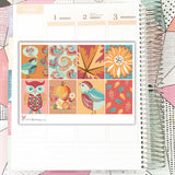 WK033 Fall Sparkle Collection // Planner Stickers