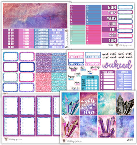 WK022 Brightest Stars Collection // Planner Stickers