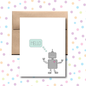 GC027 Hello Robot Card