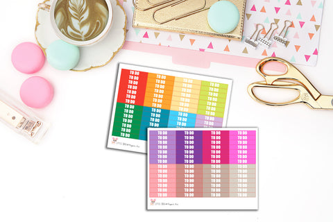 112 To Do Label Stickers // Planner Stickers