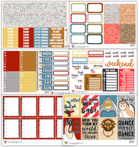 WK017 Goblin King Collection // Planner Stickers