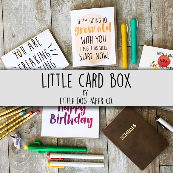 RECURRING SUBSCRIPTION Little Card Box