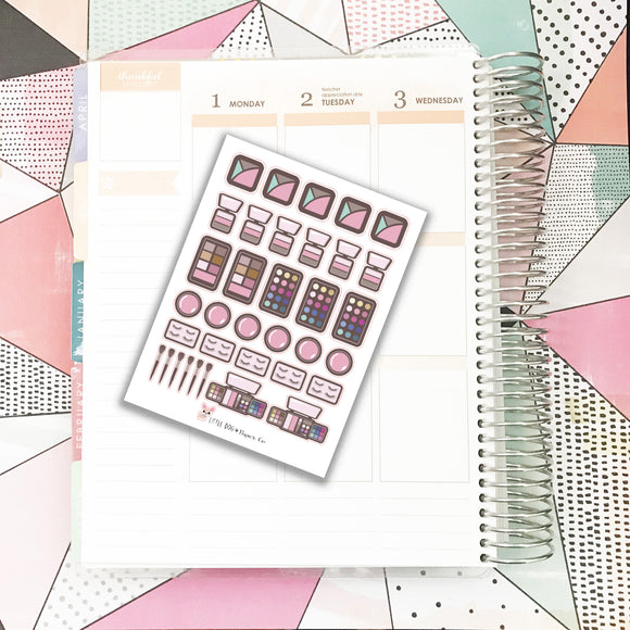 SS046 // Makeup / Cosmetics Stickers 2 // Planner Stickers