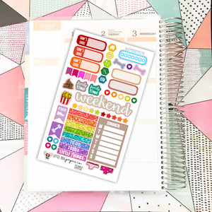 SS092 // Sticker Sampler // Planner Stickers