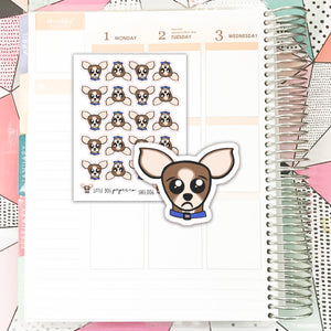 Sheldon Sad Face // Planner Stickers