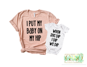 Dip BABY Dip Mommy & Me Set!