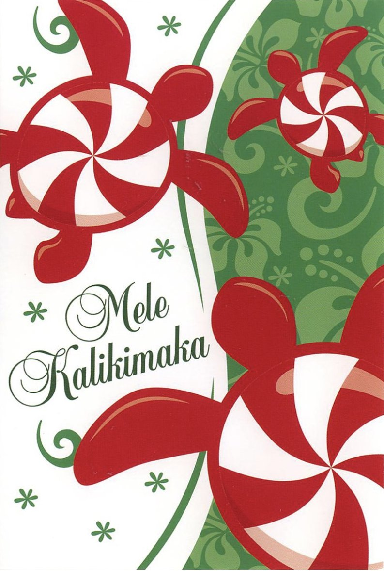 mele kalikimaka pronounced may lay kah lee kee mah kah is how we say merry christmas in hawaiian one of the wonderful things about christmas in hawaii is