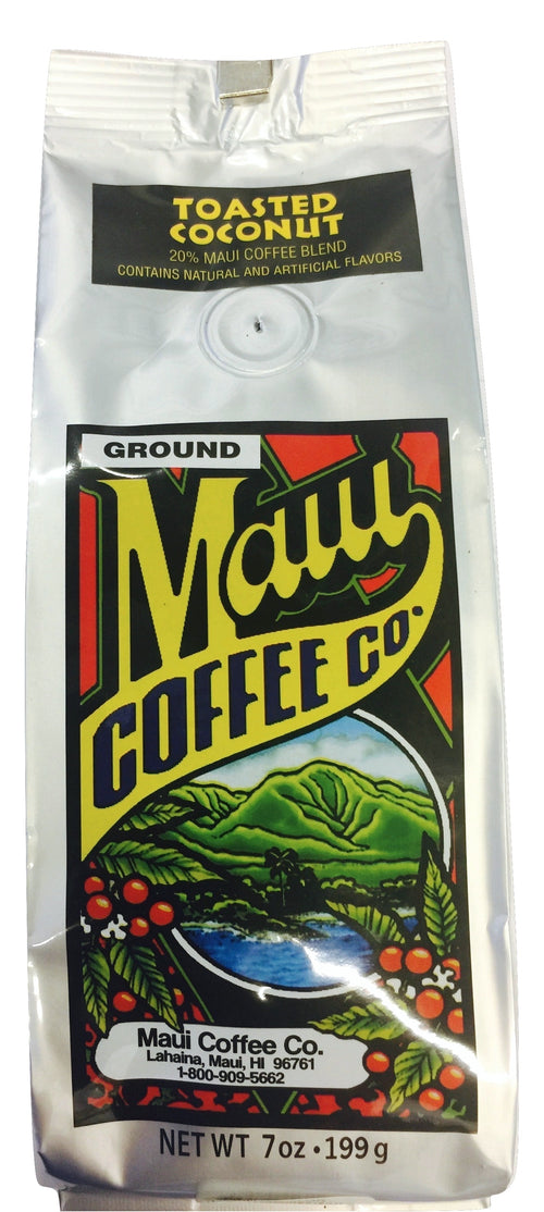 Maui Coffee Co. Toasted Coconut Hawaiian Blend Coffee