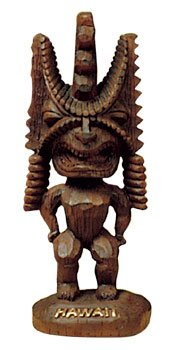 Hawaiian Figurine Winner Tiki 3 in.