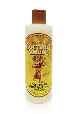 Cococnut Willie 8 oz. Coconut Oil, Unscented 100% Pure