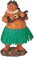 Leilani Dashboard Hula Doll Local Boy with Ukulele 7""