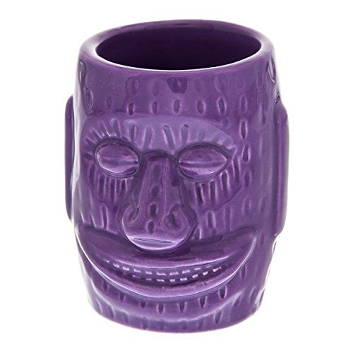 Big Ihu God KC Hawaii Ceramic Tiki Bar Shot Glass 1.5 oz.