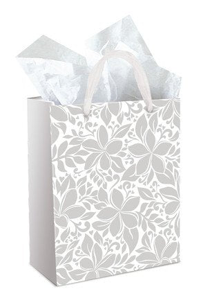 Gift Bag ELEGANT PLUMERIA Medium