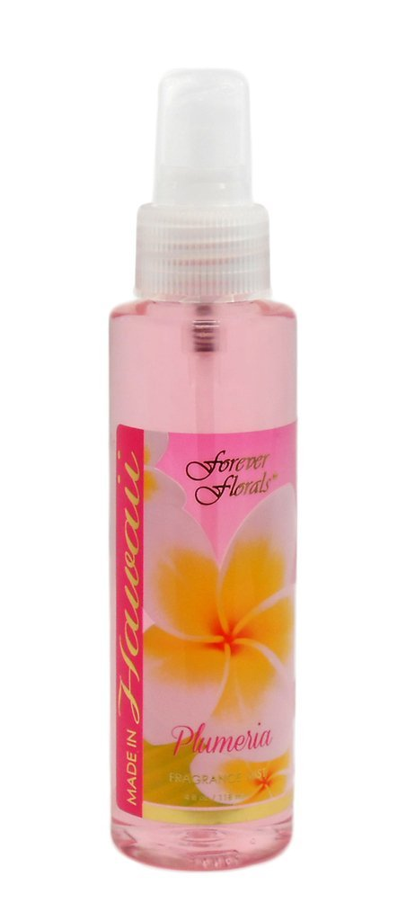Hawaii Forever Florals Body Fragrance Mist Or Air Freshener 4 oz. Plumeria