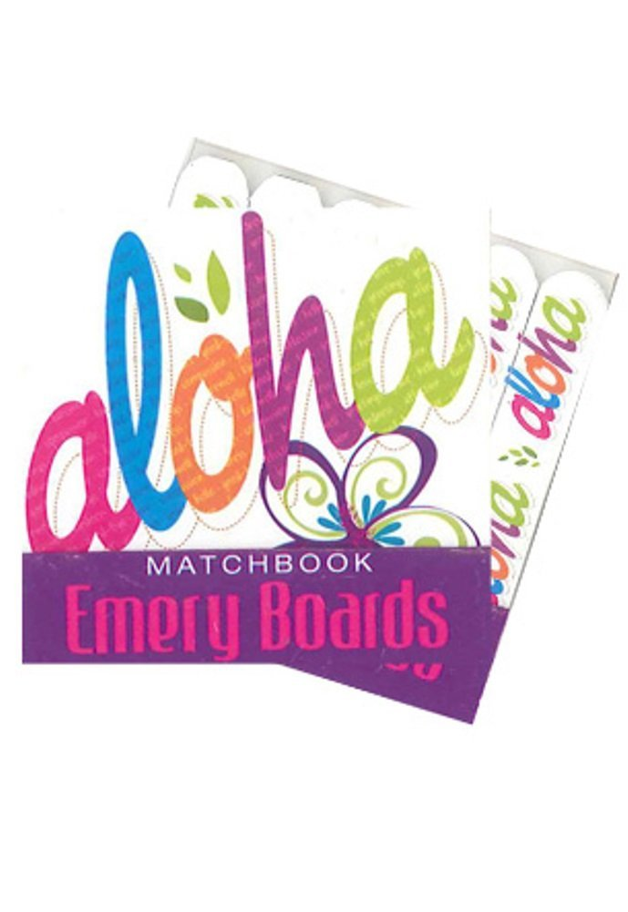 Bold Aloha Matchbook Emery Boards