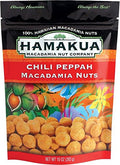 Hamakua Chili Peppah Macadamia Nuts 10 Oz Bag - Made in Hawaii