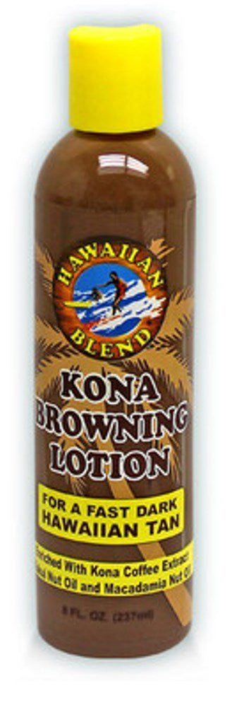 Hawaiian Blend Kona Browning Lotion 4 Pack 8 oz. Each