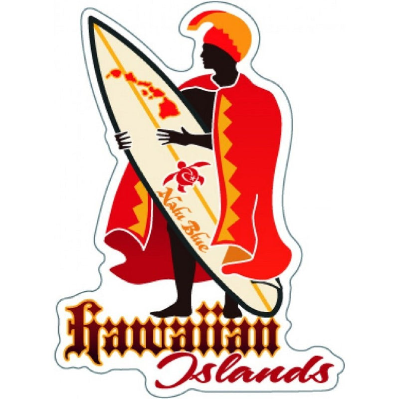 Hawaiian Decal Islands King Kamehameha