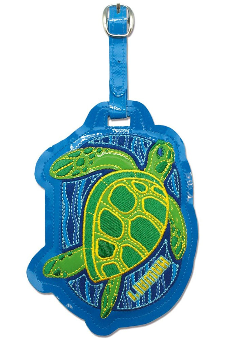Honu Deluxe Pleather Luggage Tag
