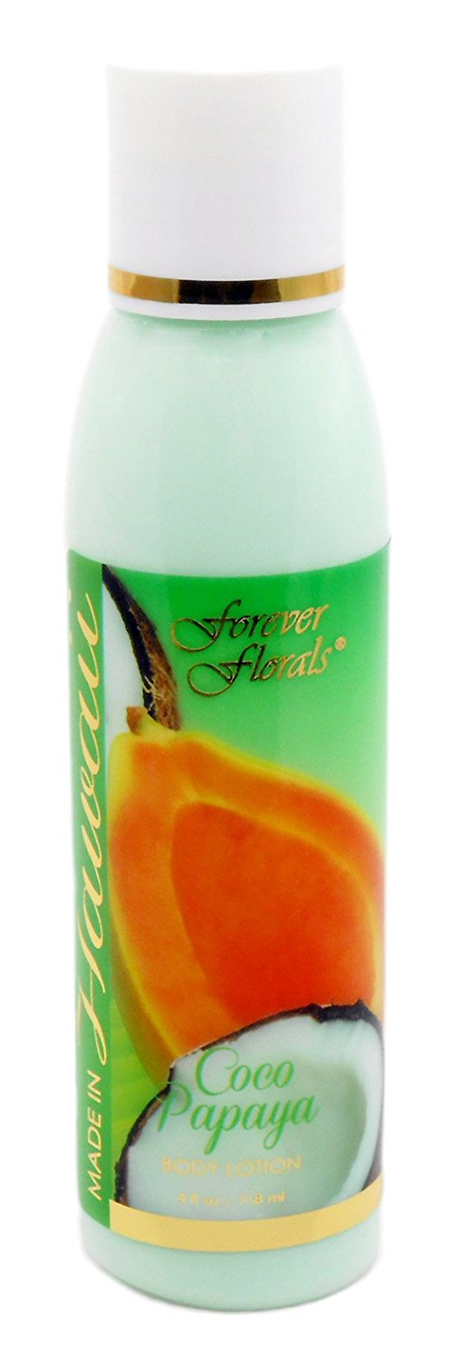 Hawaii Forever Florals Body Lotion 4 oz. Coco Papaya