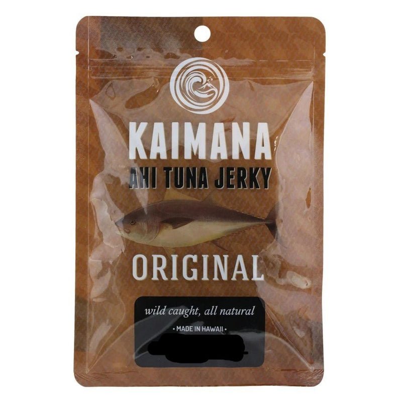 Kaimana Ahi Tuna Jerky Original 2.75 Oz Bag