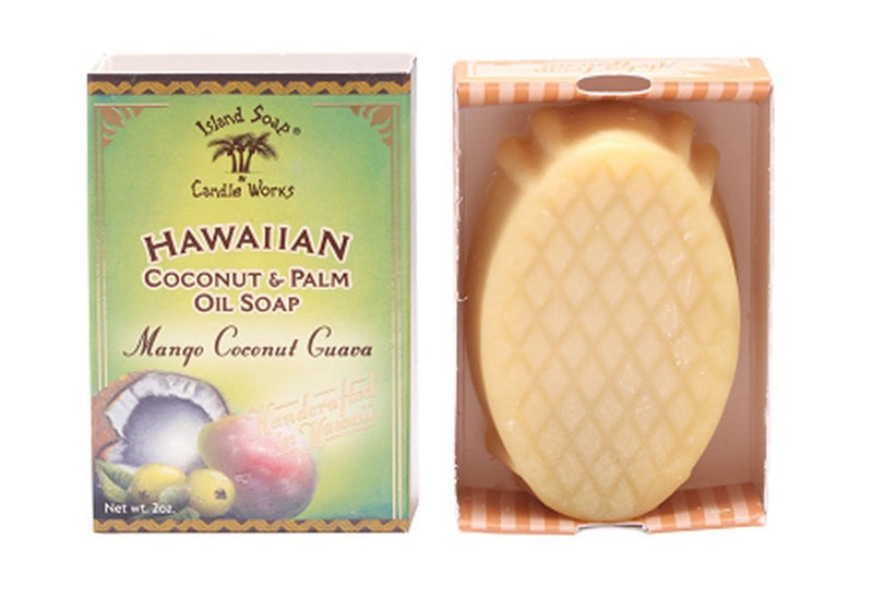 Hawaiian Coconut and Palm Oil Soap (Choice of 5 Scents)