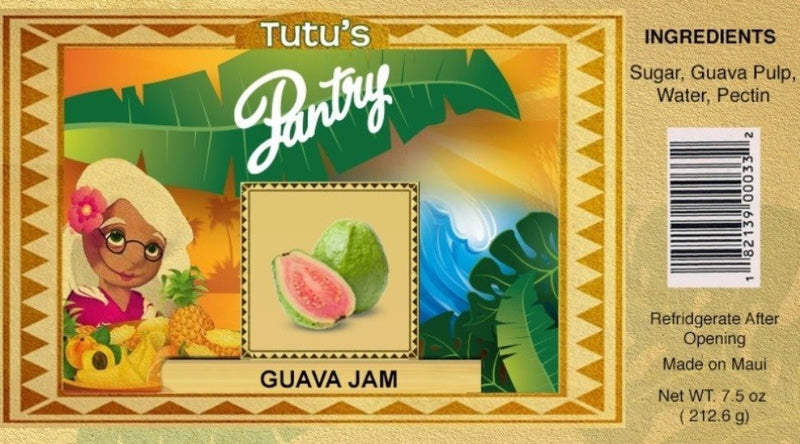 Hawaii Maui Value Pack Tutu's Pantry Guava Jam