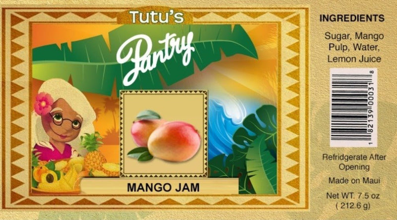 Hawaii Maui Value Pack Tutu's Pantry Mango Jam