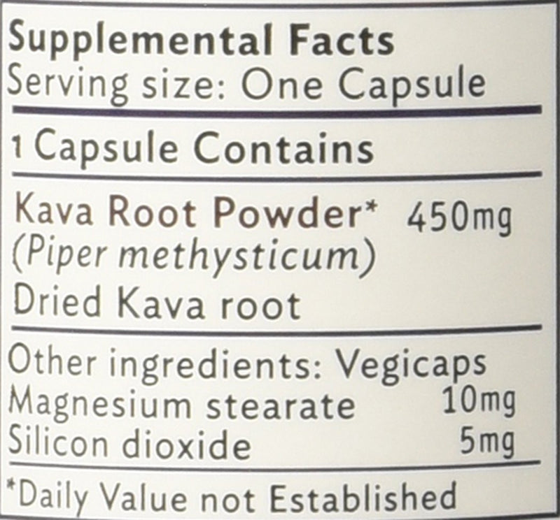 Hawaiian 100% Pure Kava Root Capsules from Hawaii