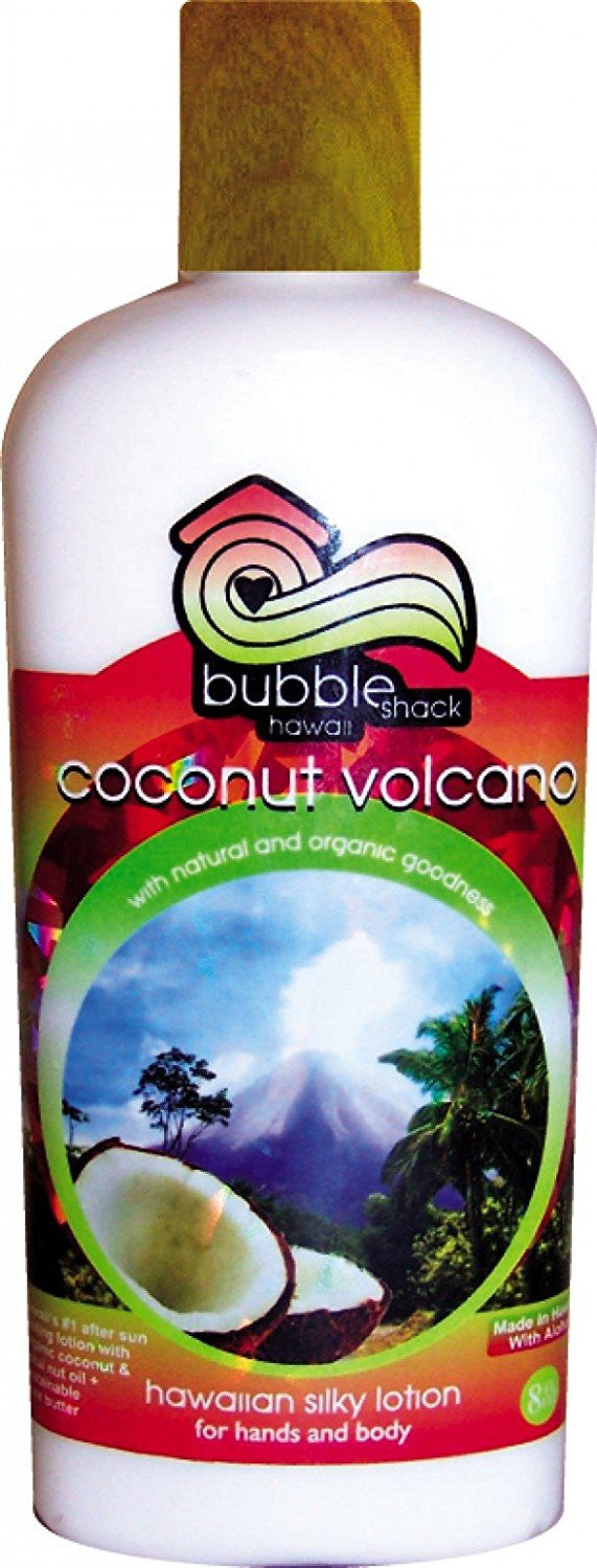 Bubble Shack Coconut Volcano Body Lotion, 8oz