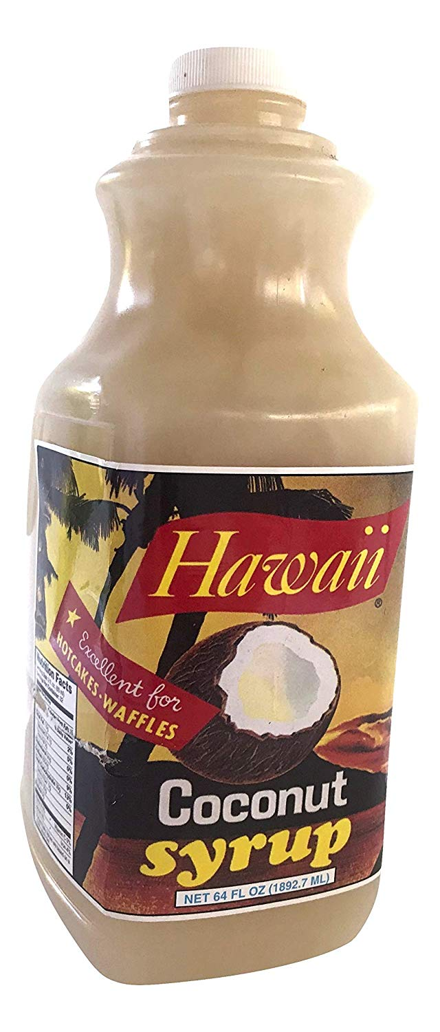 Hawaii Tropical Coconut Syrup