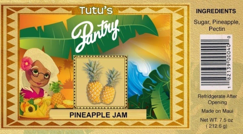 Hawaii Maui Value Pack Tutu's Pantry Pineapple Jam