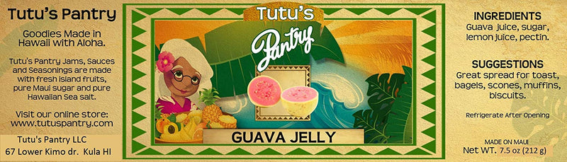 Hawaii Maui Value Pack Tutu's Pantry Guava Jelly