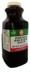 Halm's Hawaiian BBQ Bar-B-Que Sauce Hawaii