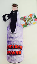 Hang Loose Hawaii Shaka Coozie Koolie Insulated Bottle Holder with Built in Bottle opener