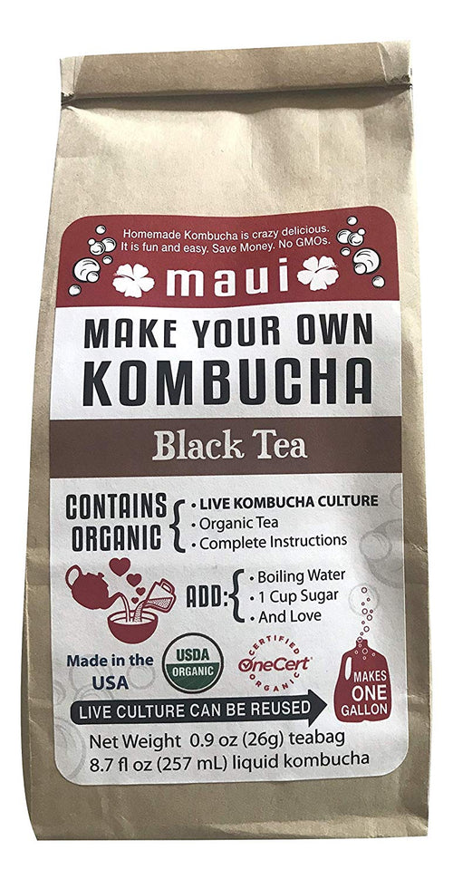 Organic Maui Make Your Own Kombucha Starter Kit