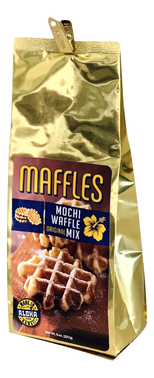 Maffles Original Mochi Waffle Mix from Hawaii 8 oz Bag