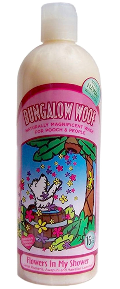 Bungalow Woof Natural Shampoo for People and Dogs 16 Ounce (choose from 3 varieties)