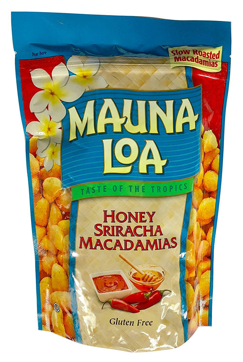 Mauna Loa Hawaiian Roasted Macadamia Nuts (Honey Siracha, 10 Ounce)